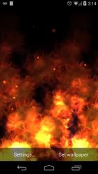 KF Flames  Live Wallpaper 1