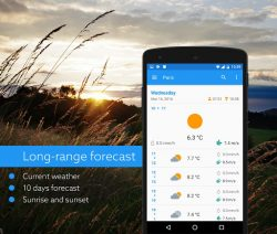 Klara weather APK 3