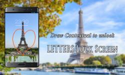 Letters Lock Screen 1