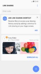 Samsung Link Sharing 1