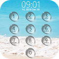 Lock screen droplets water APK