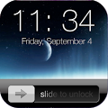 Lock screen slider