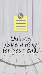 Notes with Caller ID APK 1