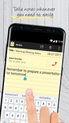 Notes with Caller ID APK 2