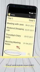 Notes with Caller ID APK 3