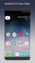O Launcher 8.0 para Android O Oreo Launcher APK 1