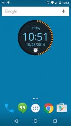 Round Clock Widget 3