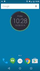 Round Clock Widget 2