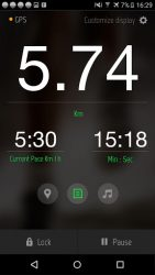 Running Distance Tracker + 1