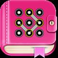 Secret diary with lock