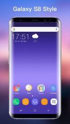 SS S8 Launcher para Galaxy S8 3