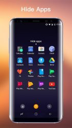SS S8 Launcher para Galaxy S8 4