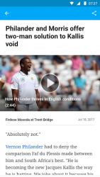 ESPNcricinfo Cricket App 4