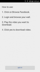 Video Downloader para Facebook 1