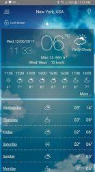 Weather app APK 2