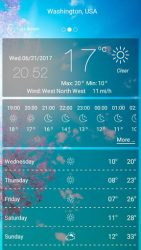 Weather forecast APK 3